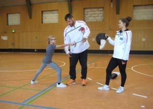 Schnupperprojekt Fechten – der etwas andere Sportunterricht